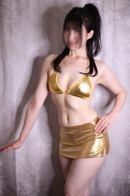 ゴールドビキニ(スカートあり)