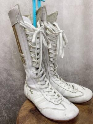 白スニーカーブーツ2